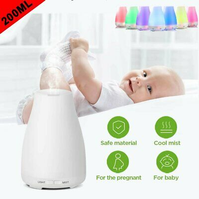 AU19.89 • Buy LED Ultrasonic Aroma Aromatherapy Diffuser Essential Oil Air Humidifier Purifier