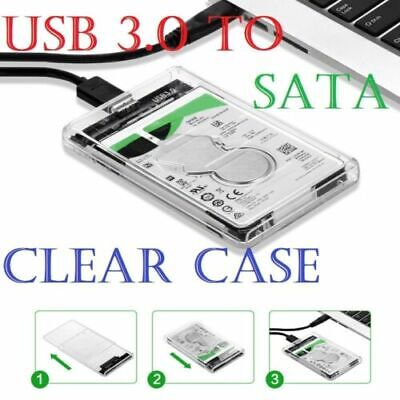 £5.49 • Buy USB 3.0 To SATA Hard Drive Enclosure Caddy Case For 2.5  Inch HDD / SSD External
