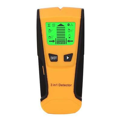 £12.15 • Buy Metal Wood Studs Detector AC Voltage Live Wire Detect Wall Scanner (Yellow)