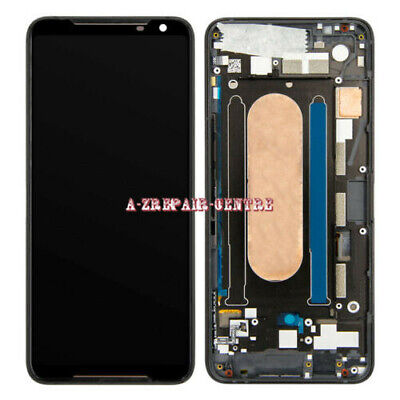 AU258.50 • Buy For ASUS ROG Phone 2 ZS660KL I001D I001DA LCD Touch Screen Digitizer Black+Frame