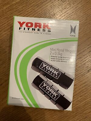 £20 • Buy *york Fitness Mini Hand Weights (2x0.5kg) In & Outdoor Home Use Cardio/toning*