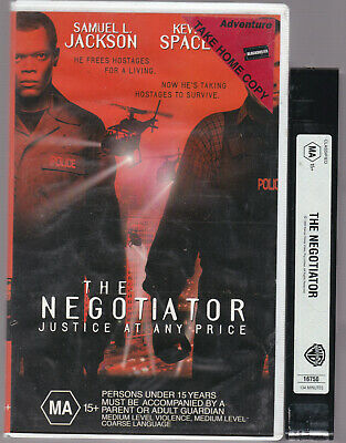 AU23.28 • Buy RARE VHS THE NEGOTIATOR Big Box Ex-Rental Video Tape Blockbuster Kevin Spacey