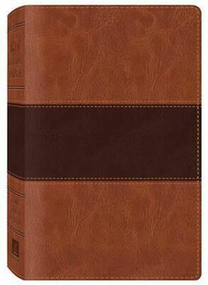 AU45.40 • Buy NEW Study Bible-KJV By Barbour Publishing Leather Bound Book Free Shipping