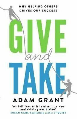 AU24.80 • Buy NEW Give And Take By Adam Grant Paperback Free Shipping