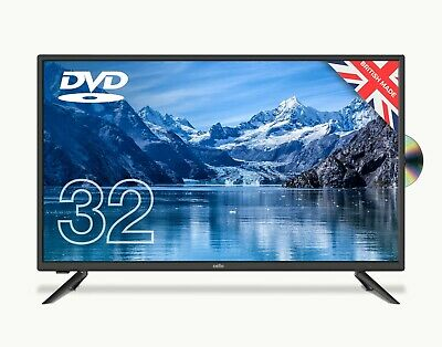 £169.99 • Buy Cello 32″ HD LED TV With DVD Player And Freeview T2 HD C3220F