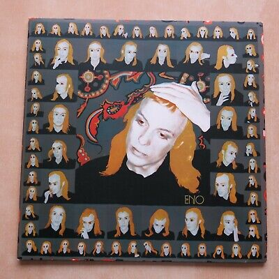 BRIAN ENO Taking Tiger Mountain (By Strategy) UK Vinyl LP Polydor Records • 14.99£