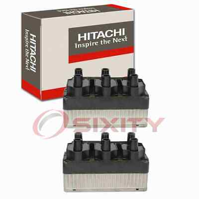 $251.53 • Buy 2 Pc Hitachi IGC8437 Ignition Coils For 021905106B 021905106C Wire Boot Ak
