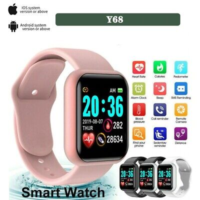 AU22.95 • Buy Watch,Smart Digital Watch For Men Women With Bluetooth Call Reminder Remote Came