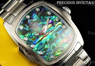 $ CDN96 • Buy Invicta Men's 47mm SPECIAL EDITION GRAND LUPAH Abalone Dial Silver Tone SS Watch