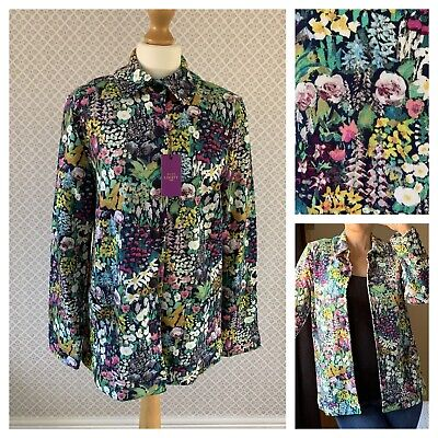 BNWT Cotswold Collections Liberty Print Jacket Size S Current Stock RRP £149 • 69.99£