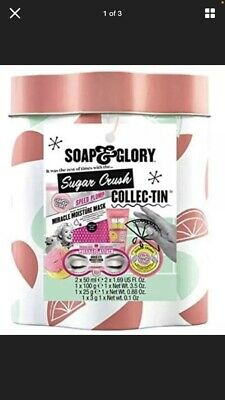 Soap And & Glory Sugar Crush Collec-Tin Christmas Gift Set • 11.99£