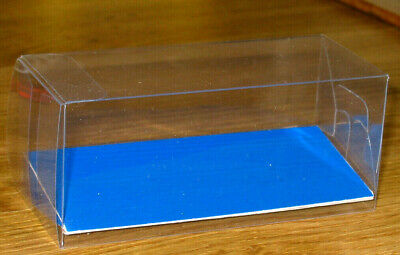 £2.50 • Buy CLEAR ACETATE DISPLAY BOXES IDEAL FOR  MODEL VEHICLES    Size 10.5x5x5cm