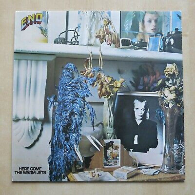 BRIAN ENO Here Come The Warm Jets UK Vinyl LP Polydor Records Ex • 14.99£
