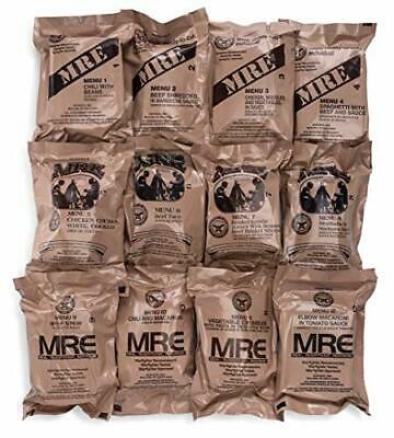 $84.40 • Buy 2021 Mre Meals Military Surplus Meals Ready To Eat Genuine U.S. Military
