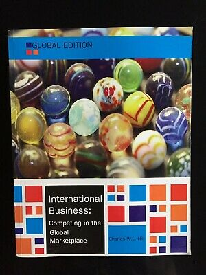 £35 • Buy International Business: Competing In The Global Marketplace By Hill (2014)