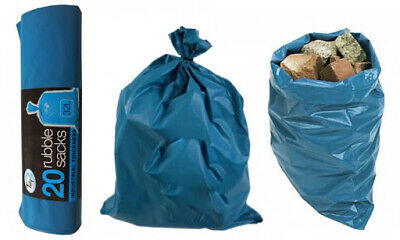 £9.89 • Buy Rubble Sacks Builders Waste Rubbish Bags Strong - UK Seller- Fast Dispatch