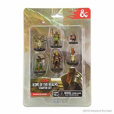 AU44.88 • Buy Wizkids Dungeons And Dragons Icons Of The Realms Starter Set