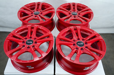 $399 • Buy 14  Wheels Honda Civic Accord Integra Neon Escort Corolla Miata Red Rims 4 Lugs