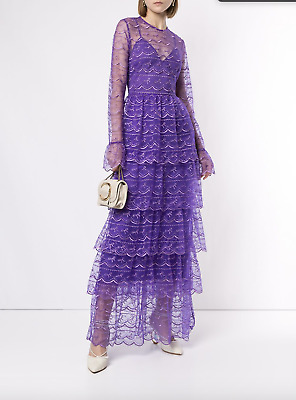 AU270 • Buy Bnwt Alice Mccall Violet Satellite Of Love Gown - Size 8 Au/4 Us (rrp $795)
