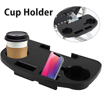 £9.99 • Buy 1/2 PCS Zero Gravity Recliner Sun Lounger Chair Clip Side Tray Table Cup Holder