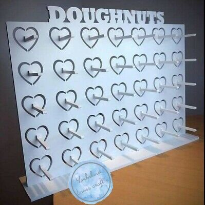 £28.95 • Buy Y354 Donut Doughnut Wall Stand Party Wedding Favour Birthday Sweets Candy Carts