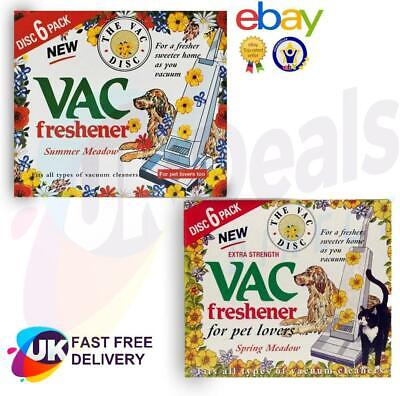 Vac Freshener Hoover Vacuum Cleaners Freshner Disc For Pet Lovers Home Office • 3.65£