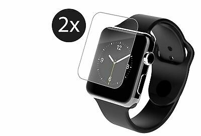 AU5.61 • Buy 2X Apple Watch 6 5 4 3 2 1 3D Tempered Glass Full Screen Protector 38/42/40/44mm