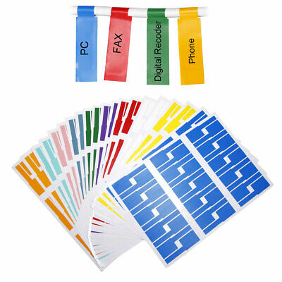 £8.99 • Buy 600 Labels Self-Adhesive Cable Label Waterproof Markers Tags For Laser Printer