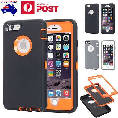 AU15.99 • Buy For IPhone 7 8 Plus Shockproof Rugged Heavy Duty Case Cover & Screen Protector