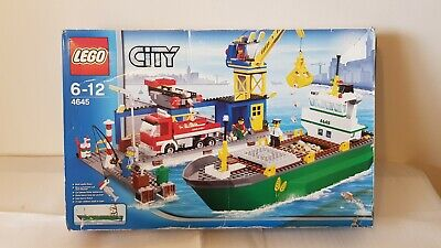 £90 • Buy LEGO City Harbour (4645) Complete With All Instructions Never Built.