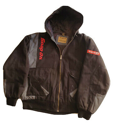 $ CDN119.79 • Buy Snap On Tools Men's Hooded XL Black Winter Coat Jacket Used Quilted 2010 90 Year