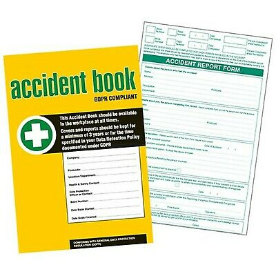 £15.99 • Buy GDPR Compliant Business/Workplace Accident Report Book - A4