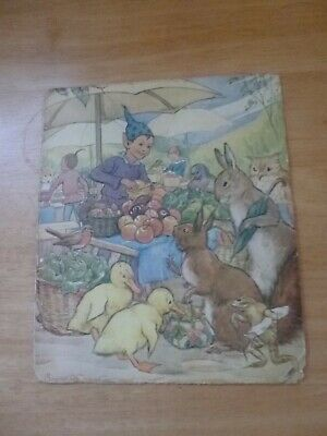 Rare Market Day Picture By Margaret Tarrant • 35£