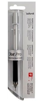 £17.99 • Buy Adonit Jot Pro Fine Point Precision Tip Stylus For IPad IOS Android GunMetal MP
