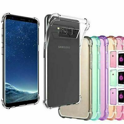 AU5.41 • Buy Samsung Galaxy S20 Note 10 5G S10 E S9 S8 Case Clear Heavy Duty Shockproof Cover