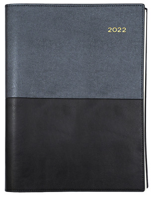 AU24.90 • Buy Collins Vanessa 2021 2022 Financial Year Diary A5 Day To A Page Black FY185