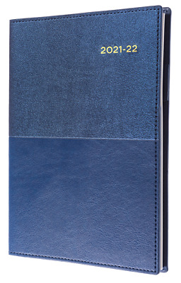 AU21.85 • Buy Collins Vanessa 2021 2022 Financial Year Diary A5 Week To View Navy Blue FY385