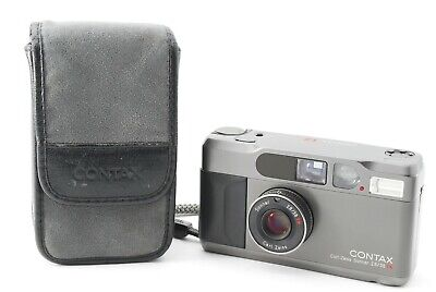 $ CDN1102.12 • Buy Read【Excellent+】 Contax T2 Titanium Black Titan Film Camera From JAPAN - 5542