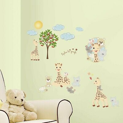 £20.99 • Buy RoomMates Sophie The Giraffe Wall Stickers