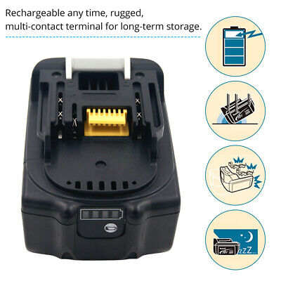 £34.52 • Buy 6.0Ah Battery Rechargeable Replacement For Makita 18V Battery Cordless Drill