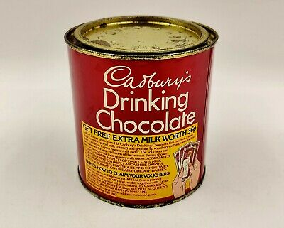 Vintage Advertising Confectionery/Cocoa Tin-Cadbury's Drinking Chocolate • 11.99£