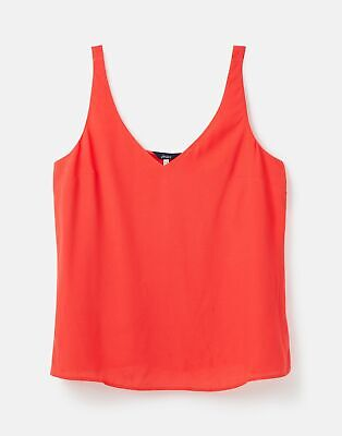 £10.95 • Buy Joules Womens 215750 V Neck Cami - Red