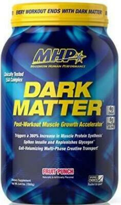 $34.99 • Buy MHP Dark Matter Post-Workout Muscle Growth Accelerator 3.44 Lbs Strawberry New