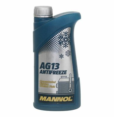 £7.49 • Buy AG13 LONGLIFE Green AntiFreeze 1L Summer - Winter Coolant Concentrate GL12+