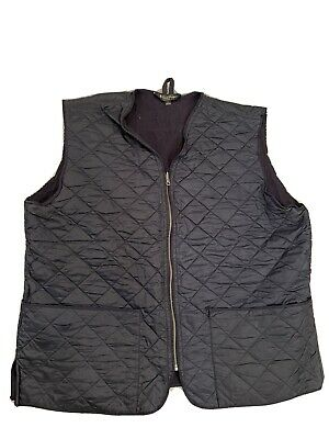 $30 • Buy Brooks Brothers Mens Diamond Quilted Vest Blue - XL