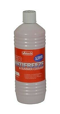 1L Antifreeze & Summer Coolant 1 Litre Red Anti Freeze For BMW 6 Series • 15£