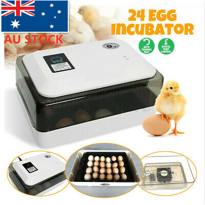 AU49.34 • Buy 7-98 Eggs Incubator Automatic Turning Digital Hatching Chicken Duck Poultry Lot