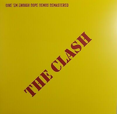 £20.95 • Buy THE CLASH - GIVE 'EM ENOUGH ROPE DEMOS REMASTERED - RED Vinyl LP (New) PUNK