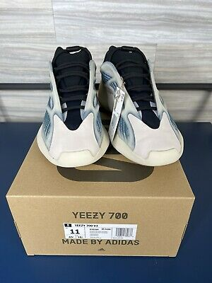 """$ CDN332.67 • Buy NEW Adidas Yeezy 700 V3-""""Kyanite"""" GY0260 Size 11 IN HAND Deadstock DS"""