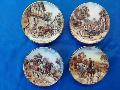 £12.98 • Buy 4 Life On The Farm In Miniature  By John L Chapman Bradex  Collectors Plates